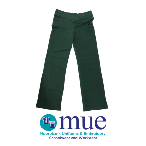 Girls Bottle Green Jazz Pants