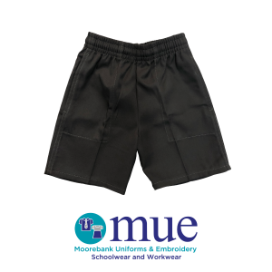 Boys Grey Shorts with Zippered Pocket