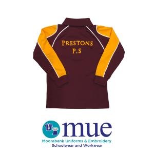Prestons Public Long Sleeve Sports Polo