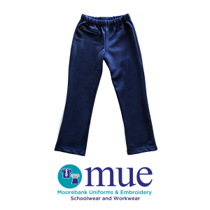 Girls Navy Tunnel Slacks