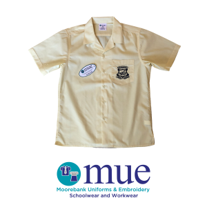 Boys Lemon Short Sleeve Shirt Year 7 & 8
