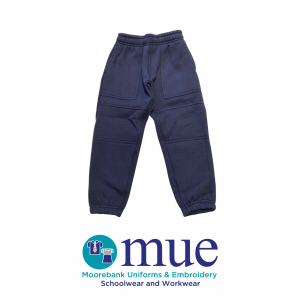 Double Knee Navy Trackpants