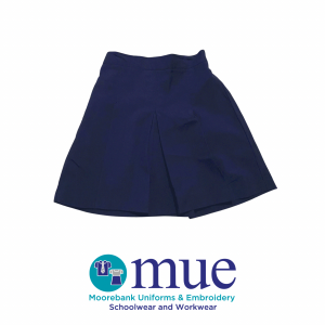 Girls Navy Culottes