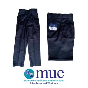 Navy Melange 1500 Trousers