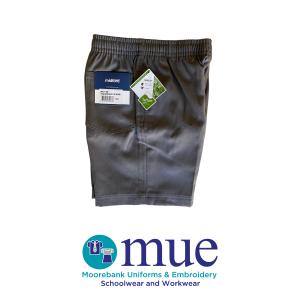 Grey Midford Full Elastic Shorts