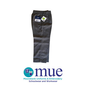 Grey Midford Full Elastic Trousers