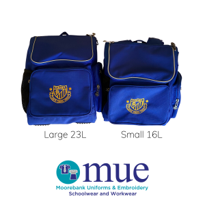 PANP School Bag Sizes