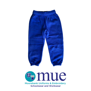 Royal Elastic Leg Double Knee Track Pants